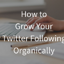 How to Grow Your Twitter Following Organically