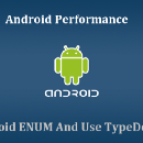 Android Performance: Avoid using ENUM on Android