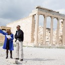 Behind the Scenes: President Obama Visits the Acropolis in Athens, Greece