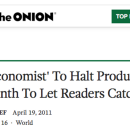 The Economist can be overwhelming. We want to help you get the most out of it