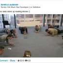 Daily plank meeting