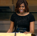 Here is Michelle Obama's amazing speech on black female beauty from Maya Angelou's memorial service