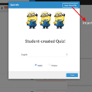Student Collaboration with Quizizz and Google Forms!