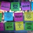 Recent College Grad Ditches Wall Street to Sell Sticky Notes & Donuts