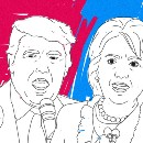 Semantics — What does data science reveal about Clinton and Trump ?