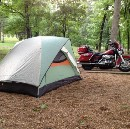 Camping While Traveling On Two Wheels