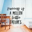 Sometimes I feel like a failure and that's okay. Let me tell you why