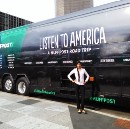 Launching the Listen to America Bus Tour
