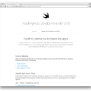 Apple has published a great free learn to code course for Swift — on GitHub