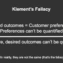 Confusion Leads to Klement's Illusion