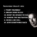 These Six Rules from The Terminator will help you conquer your fear about building a startup