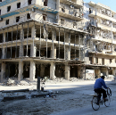 We live in Aleppo. Here's how we survive