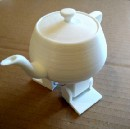 A Beauty and the Beast-Style Robotic Teapot