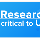 Research is critical to UX