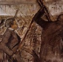 Edgar Degas, Musicians in the Orchestra, an Impressionist despite himself