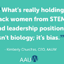 What's Really Stifling Women's Rise to STEM? It's Not Biology; it's Bias