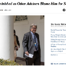 """Fake NY Times News is Creating Fake Drama — Bannon is Fine, and Look at """"Hack"""" Reporters"""