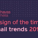Design of the times: email trends 2018