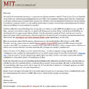Why I didn't go to MIT