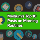 Medium's Top 10 Posts of All Time about Morning Routines