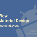 Using of ConstraintLayout to build out CardView with Material Design