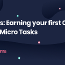 Gems: Earning your first Crypto with Micro Tasks