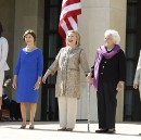 "Saying They're Worried Sick, Five Former First Ladies Ask, ""Where's Melania?"""