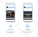 The Instagram profile page UX problem — Possible solution
