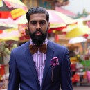 From trying to find a velvet bow tie to building a luxury fashion brand in a fiercely competitive…
