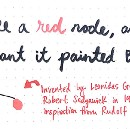 Painting Nodes Black With Red-Black Trees