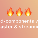 v3.1.0: A massive performance boost and streaming server-side rendering support