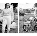 This black woman rode across America in 1930. On a Harley.