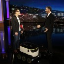 A very special DoorDash delivery for Jimmy Kimmel