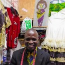 After fleeing war across 8 countries, a tailor pursues his dream