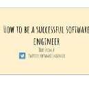 How to be a successful software engineer