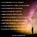 10 things I try to apply.