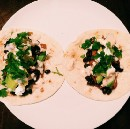 Black Bean & Sweet Potato Tacos