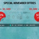 Grab Special offers in this festive season !!