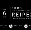 6 days left before the start of the Pre-ICO Reipex project!