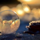 Weekend Diversion: Bubbles on Ice