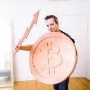 DIY Bitcoin Halloween costume