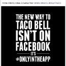 You can still dunk in the dark, @TacoBell