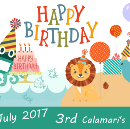 🐙 Calamari's 3rd Birthday 🎉🎉🎉