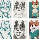 Designing characters for animation
