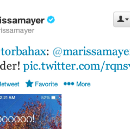 The Pros and Cons of Marissa Mayer's Friday Night Twitter Frenzy