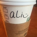 When I Go To Starbucks, My Name is Ali