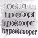 Learning & Drawing Type@Cooper