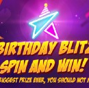 Birthday Blitz in-app promotion