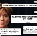 Christy Clark under heavy fire for Kinder Morgan donations scandal