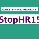Open Letter to President Obama; Stop HR158